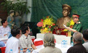 Đúc tượng Tổng tư lệnh – Đại tướng Võ Nguyên Giáp đặt tại Quảng Bình